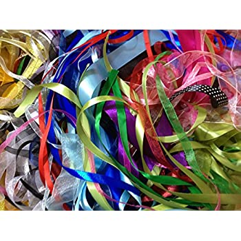 Florists Ribbon  x 100 meters Mixed colours