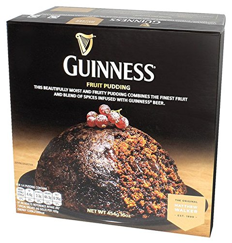 Guinness Weihnachtsspezialität Plum Pudding aus Irland