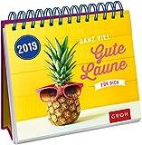 Ganz viel gute Laune für dich 2019: Tischkalender mit Wochenkalendarium
