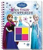 Disney Die Eiskönigin Mein Fingerstempelbuch: Mit 4 zauberhaften Fingerfarben