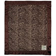 My Blankee Luxe Baby-Decke, 35,6x 43,2cm Cheetah braun