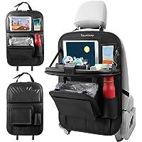 Tsumbay Organizer Auto, Proteggi Sedili Auto Bambini con Multi-Tasca e Tavolino Pieghevole iPad Porta Tablet Auto e…