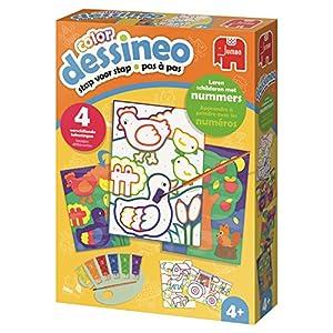 Jumbo Dessineo 18621 Kit de Pintura por números Libro y página para Colorear - Libros y páginas para Colorear (Kit de Pintura por números, Child, Niño/niña, 4 año(s), China, 30/06/2018)