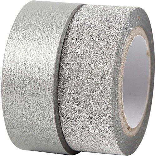 design-tape-w-15-mm-silver-skagen-2rolls