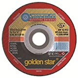 Sonnenflex AS 30 T 6 BF - Disco para amoladoras de mesa (25/115x3,0x22,23mm)