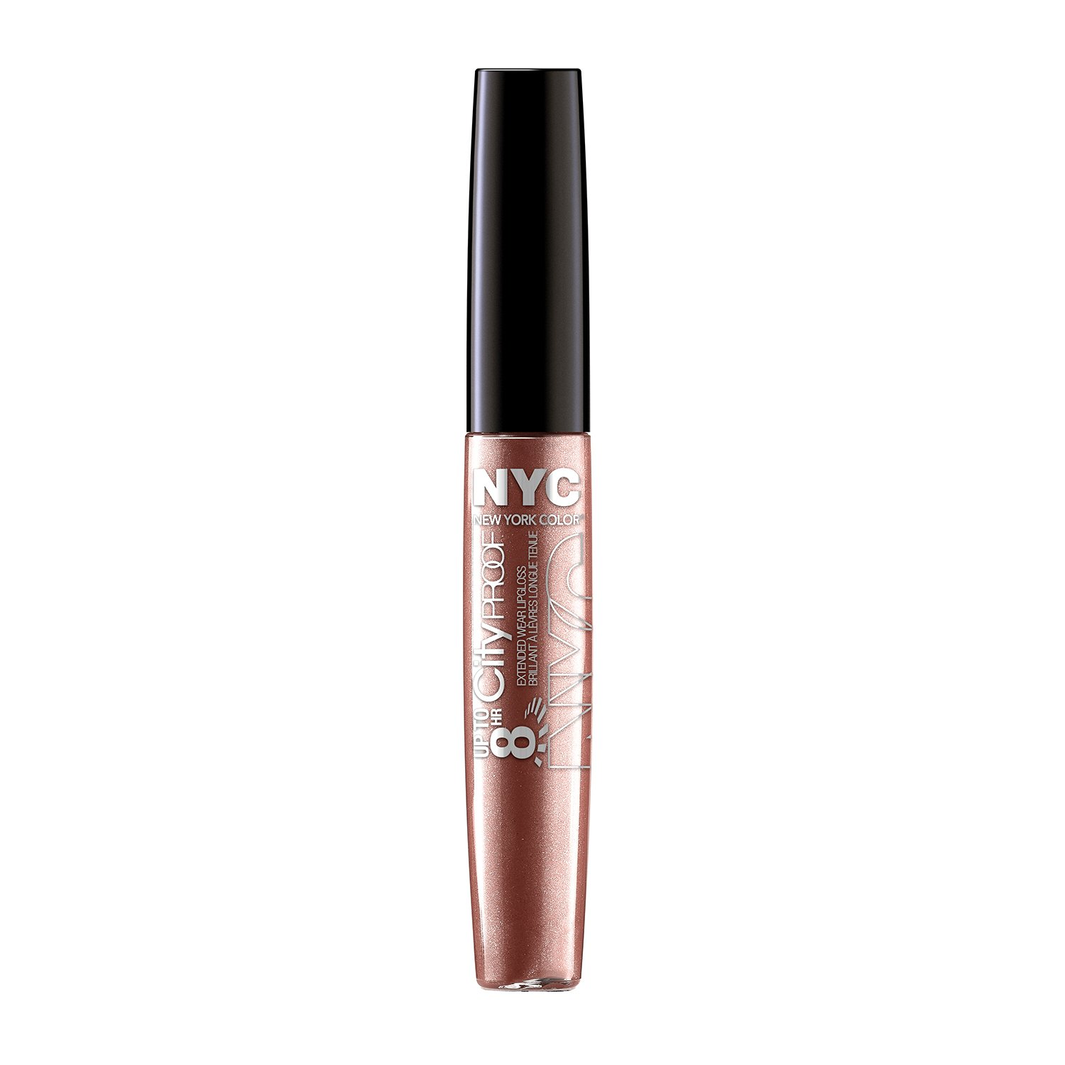 NYC Up To 8HR City Proof Gloss - Gold With Me