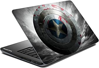 Paper Plane Design Super Hero Collection Laptop Skins & Sticker For Dell, Hp, Toshiba, Acer, Asus & All models (Upto 15.6 inches) (Design 39)