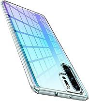 Spigen Liquid Crystal Serisi Kılıf Huawei P30 Pro ile Uyumlu/ 4 Tarafı Tam Koruma - Crystal Clear