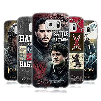 Official HBO Game Of Thrones Battle Of The Bastards Soft Gel Case for Samsung Phones 1