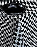 PARTY DISCOUNT Neu Tischdecke Black & White Check, 137 x 274 cm
