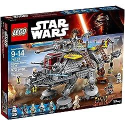 LEGO - 75157 - Star Wars - Jeu de Construction - L'AT-TE du Capitaine Rex