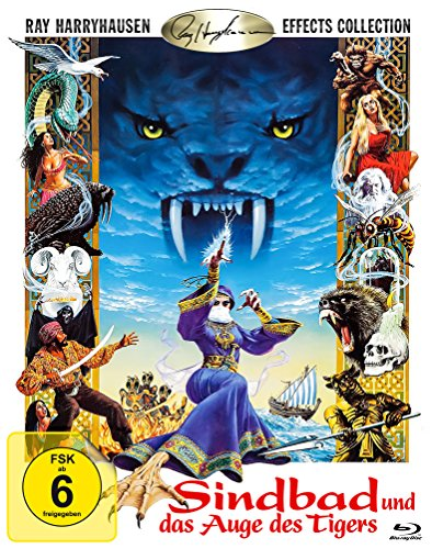 Bild von Sindbad und das Auge des Tigers (Sinbad and the Eye of the Tiger) [Blu-ray]