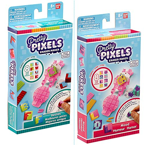 Bandai- Pretty Pixels Mini Set-Modèle Aléatoire, 38510