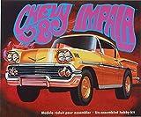 """AMT AMT946 scala 1:25 .000 """"1958 Chevy Impala modellata in oro-Kit per modellismo, in plastica"""