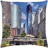 New York-EEUU - Funda de cojín (18