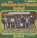 """Ramblin' Man / Jessica - CAP 17512 German 7"""" vinyl"""