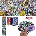 200Pcs Pokemon Cartes, Flash Cartes, Sun & Mood Series, Pokemon GX Cartes Trainer Cartes (189GX + 11Trainer)