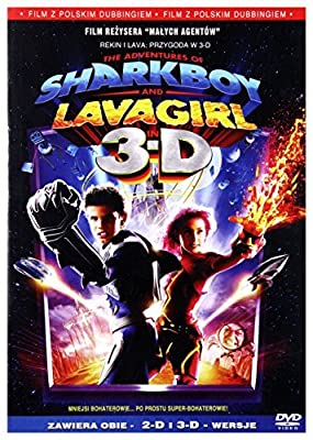 The Adventures of Sharkboy and Lavagirl in 3-D [Region 2] (English audio. English subtitles) by Taylor Lautner