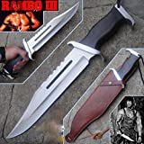 #2: RAMBO FIRST BLOOD PART III Licensed SIGN HUNTING CAMPING SURVIVAL KNIFE