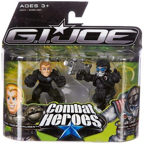G.I. Joe The Rise of Cobra Combat Heroes 2-Pack Duke [Accelerator Suit] & Air-Viper by Hasbro