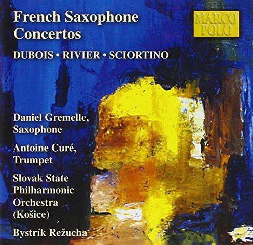 Saxophon-Konzerte französischer Komponisten