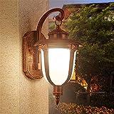 LIYAN Minimaliste Applique murale Bougeoir E26/27 Base Le balcon appliques LED étanche chevet antique allée couloir patio extérieur mural en aluminium lampadaires