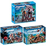 Playmobil Dragons & Knights 3er Set 6038 6039 6628 Riesenkanone