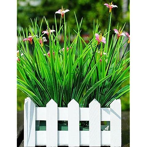 En la decoración del hogar de flores artificiales, plantas plásticas Flores artificiales , blanco