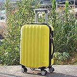 LUOSEN Koffer LUOSEN Koffer Mit Universal-Radkoffer 26.24in/Gelb