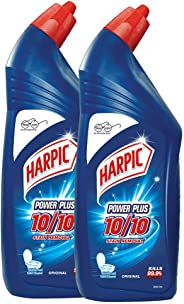 Harpic Powerplus Disinfectant Toilet Cleaner, Original - 1 L (Pack of 2)