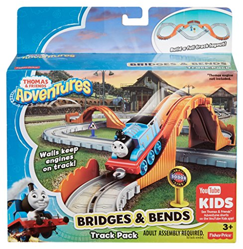 Fisher Price Thomas & Friends Adventures - Bridges And Bends Track Pack (Dyv58)