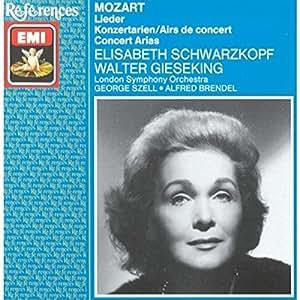 Mozart: Lieder and Concert Arias