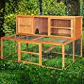6ft Kendal Rabbit Hutch & Run