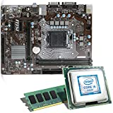 Intel Core i5-7500 / MSI H110M Pro-VD / 8GB Mainboard Bundle | CSL PC Aufrüstkit | Intel Core i5-7500 4X 3400 MHz, 8GB RAM, Intel HD Graphics 630, LAN, 7.1 Sound, USB 3.1 | Aufrüstset | PC Tuning Kit
