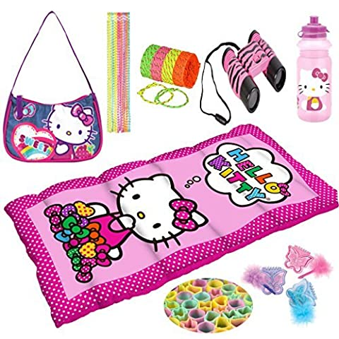 Hello Kitty 57 Piece Adventure Camping Gear Toy Play Set
