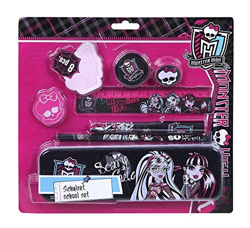 Undercover MHIN6450 - Monster High Schulset, 8-teilig