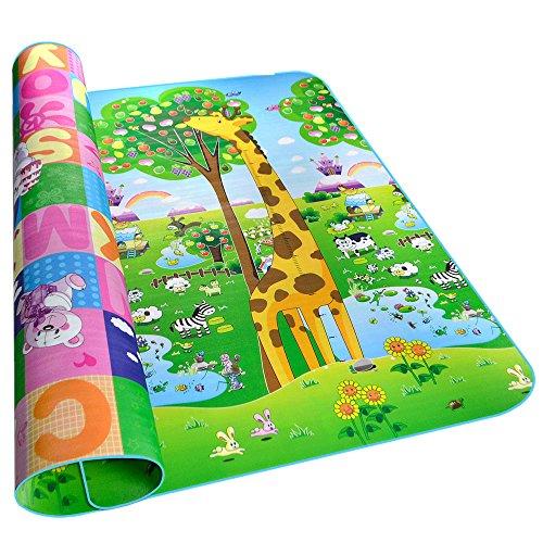 Golden Rule Alfombra para niños suave para jugar niños y bebés lados...