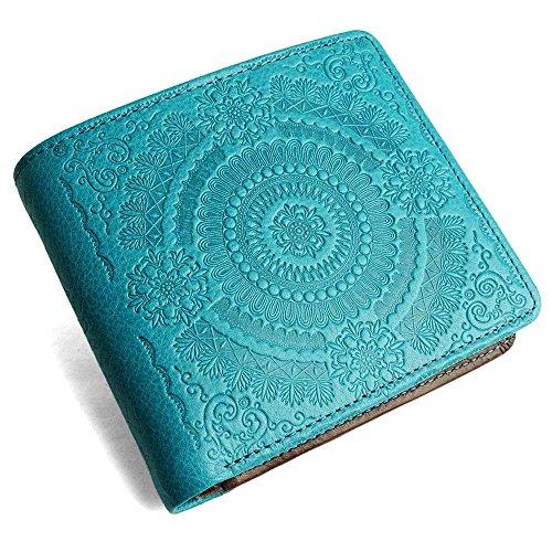 pacca pacca Portafogli Blue, Chocolate taglia unica