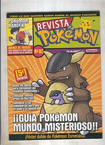 Revista pokemon numero 083