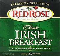 Red Rose Irish Breakfast Tea 40 ct (Case of 6 boxes)