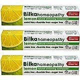 Bilka l'homéopathie, le dentifrice homéopathique avec xylitol, saveur de citron, le fluorure libre, sans menthol...