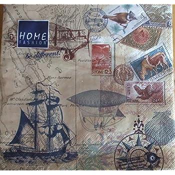Travel Great for Decoupage Pack of 4 Napkins 16 609 42 Napkin Art