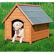 Pino resistente a la intemperie – Caseta de perro Gesto Roof – Buen Circulación de aire