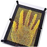 3D Pin Art Impressions - 2800 pins (Yellow)