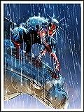 The Amazing Spiderman imagenation 'in The rain' 60 cm X 80 cm - impresión en láminas autoadhesivas papel de cartel