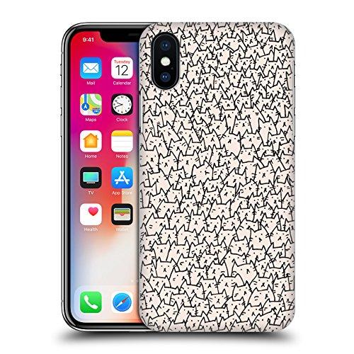 Officiel Kitten Rain Trompette Chats Étui Coque D'Arrière Rigide Pour Apple iPhone 6 Plus / 6s Plus Lot