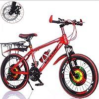 HUALQ Vélo Vélos Vélos et bicyclettes pour Enfants Vélos pour Enfants 20/22/24/26 Freins à Disque Double 21 Bicyclette vitesse/24 Vitesses