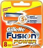 Gillette Fusion Power Rasierklingen, 8 Stück