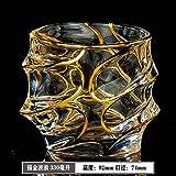 Luxury glass Copa De Whisky De Cristal, Copa De Vino, Copa De Jugo De Frutas, Taza De Leche, Taza De Té, Taza De Cerveza, Copa De Cóctel Cuadrada, 350 Ml De Ola