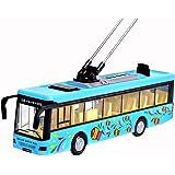Blue Toy Sightseeing Bus mit Licht und Sound Effekte Kinder